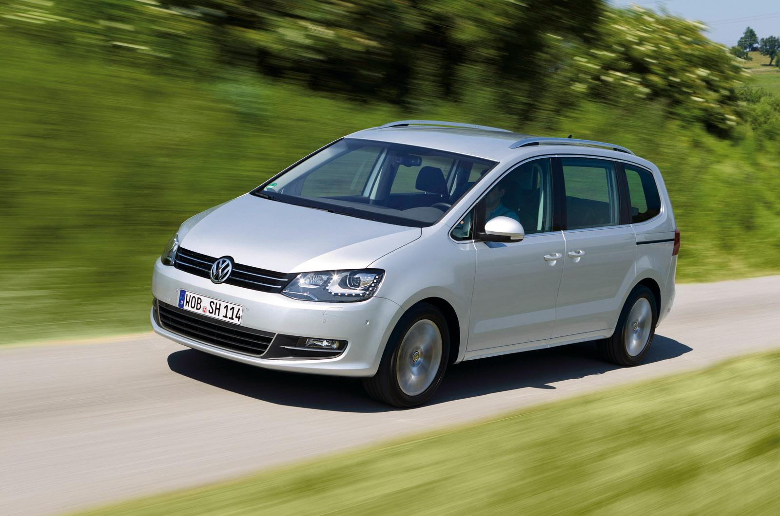 VW Sharan performance