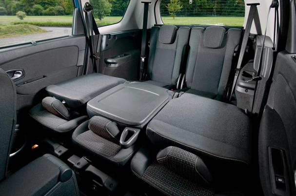 Renault Grand Scenic seats down