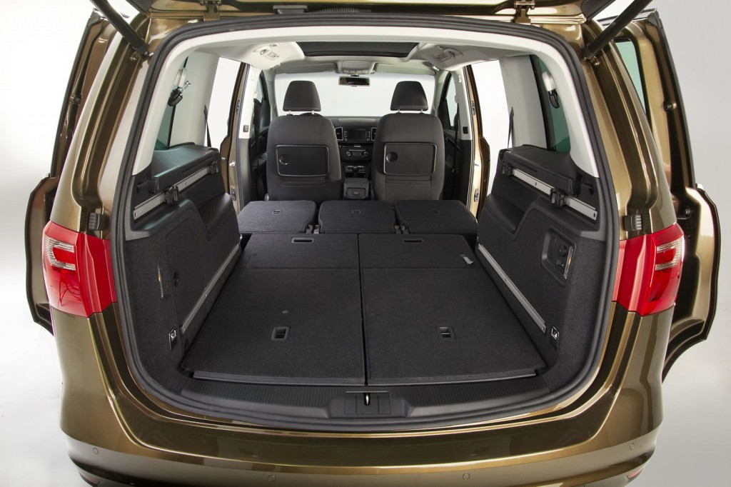 Seat Alhambra Seats Down