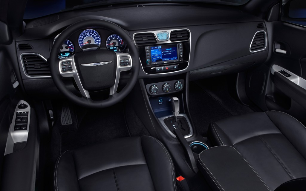 chrysler grand voyager 2014 interior