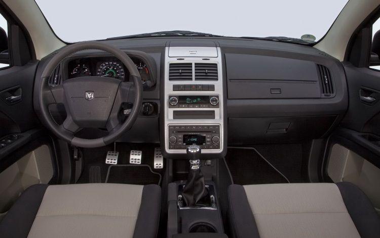 Dodge Journey behind the wheel