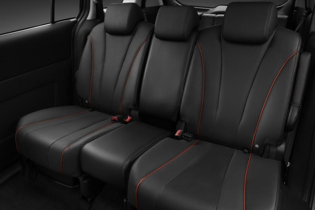 Mazda 5 rear seats