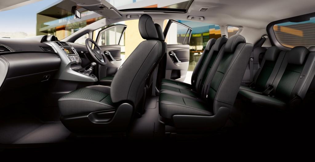 Toyota Verso Seats