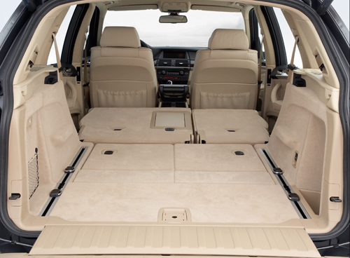 BMW X5 Load Space