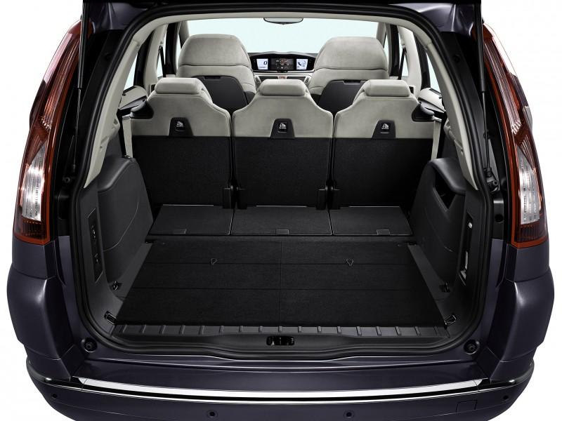 Citroen C4 Grand Picasso load space