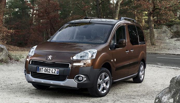 Peugeot Partner Tepee seven seater
