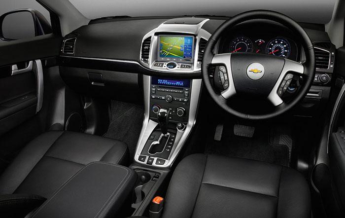 Chevrolet Captiva front seats