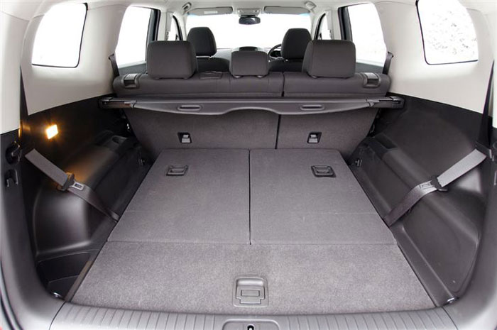 Chevrolet Orlando load space