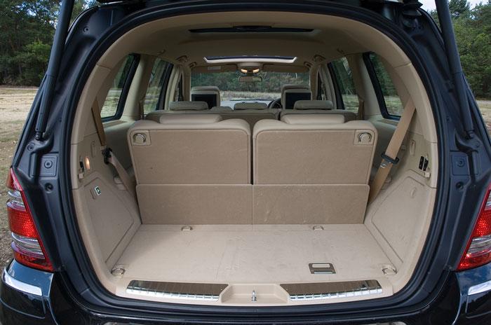 Mercedes Benz Gl Class boot