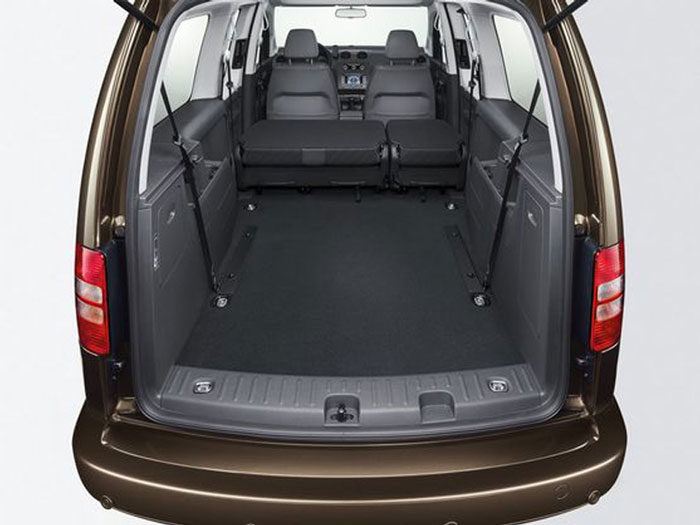 VW Caddy boot
