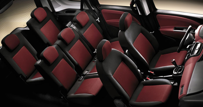 Fiat doblo 7 seater cars for Fiat doblo interieur