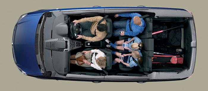 Vauxhall Zafira boot